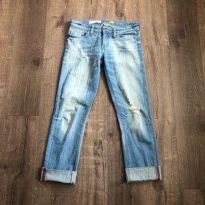 Anthropologie Pilcro Hyphen Distressed Jeans 26